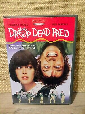 DROP DEAD FRED DVD 🇺🇸 Release Phoebe Cates Rik Mayall OOP