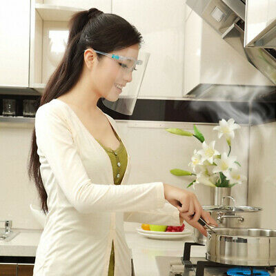 Anti-fog Anti-Oil Splatter Clear Full Face Cover Shield Home Cooking Protector
