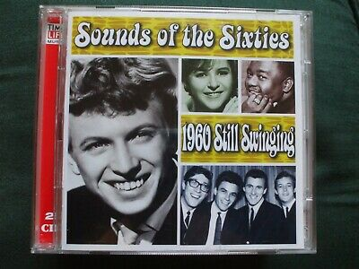 Time Life - Sounds Of The Sixties 1960 Still Swinging Double CD.Ex Condition