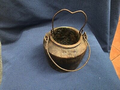Ex Military Cast Iron  Glue pot with Copper liner Made By Kenrick