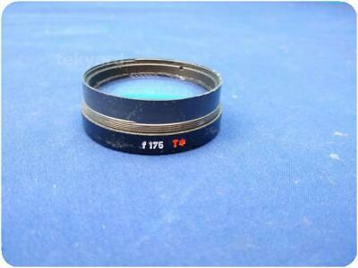 Carl Zeiss F 175 T* Surgical Opmi Microscope Objective Lens ! (246742)