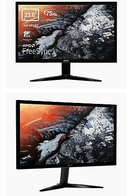 """Acer Gaming Monitor 23.6"""" KG241Q bmiix 1920x1080 1ms Response Time AMD FREESYNC"""