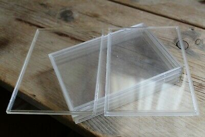 1x Empty Perspex Plastic Coin Case For Royal Mint Proof Coin Set