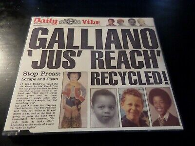 Cd Single - Galliano - Jus Reach Recycled