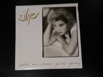Cd Single - Silje - Tell Me Where You're Going