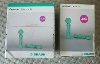 New & Sealed Braun Omnican Lance Soft 30G 0.30Mm X 200 X 2 Boxes