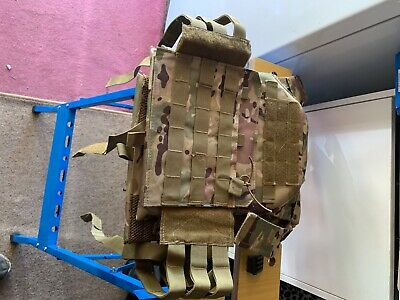 MTP Light chest rig vest airsoft paintball plus 8FIELDS multi pocket pouch (new)