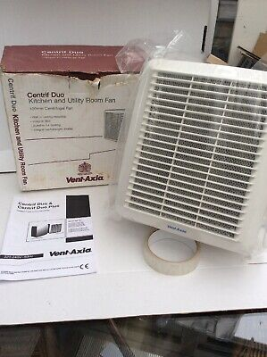 Vent Axia Centrif Duo P Centrifugal Pullcord Bathroom Extractor Fan Kitchen