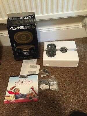Vintage Alpine 6204 AX 2 Way Speaker System Brand New In Box