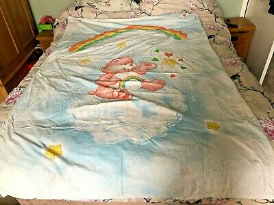 Vintage 1980s Care Bear Duvet Cover Care Bears Fabric