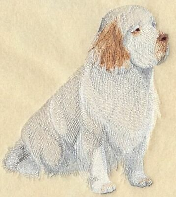 Embroidered Short-Sleeved T-Shirt - Clumber Spaniel C4973 Sizes S - XXL