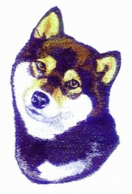 Embroidered Short-Sleeved T-Shirt - Shiba Inu BT3511  Sizes S - XXL