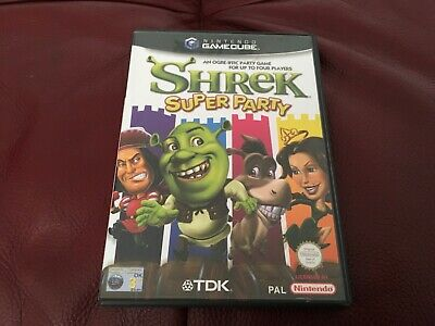 Shrek Super Party. Nintendo Gamecube Game. Boxed Complete With Manual.