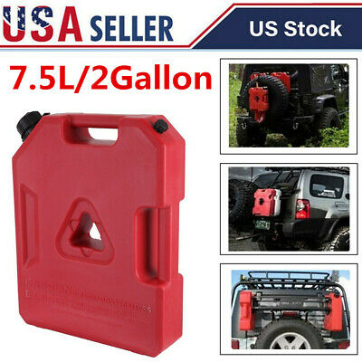 2 Gallon Fuel Pack Off Road ATV Pack Jerry Can Polaris Gas Can Spare Container