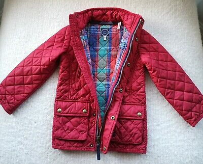 Boys or Girls JOULES quilted JACKET / COAT age 4 years