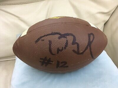 NFL Football (Everlast) Signed / Autographed by Tom Brady (New England Patriots)
