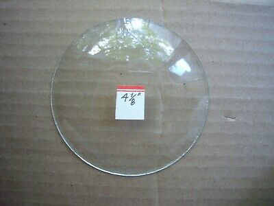 """Replacement CONVEX Glass for Clocks ~ 4 1/8"""" NOS ~ UNBRANDED ~ 4 1/8"""""""