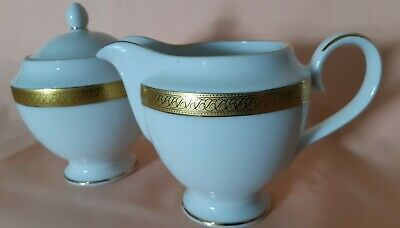 Boots Imperial Gold Bone China Tea Set 3× Cup & Saucers Milk Jug And Lidded...
