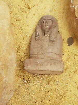 Rare Antique Ancient Egyptian Statue Queen Nefertari Head Bust 1279–1213 BC