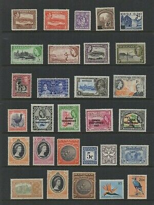 British Colonies George V, George Vi, Qeii Unmounted Mint  - See 2 Scans