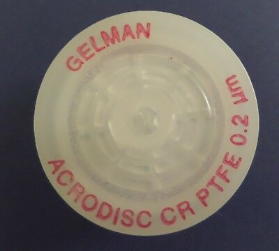 GELMANSCIENCES - 10 * ACRODISC CR PTFE SYRINGE FILTERS - 0.2um