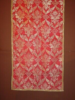 WONDERFUL ANTIQUE SILK AND GOLDBROCADE EARLY 19th century? ITALIAN ? ***HG**