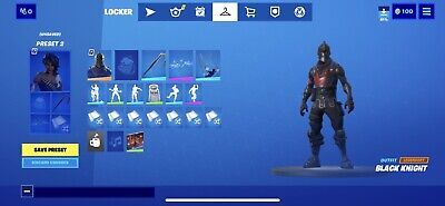 Fortnite Black Knight Account NFA And Not Linkable To PS4 And Xbox (PC Only)
