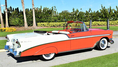 1956 Chevrolet Bel Air/150/210 Convertible 283ci Automatic Power Top imply Stunning 1956 Chevrolet Belair Convertible 283ci V8 Automatic Power Top