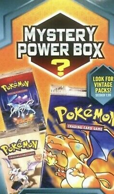 Pokemon Card Mystery Box With vintage PSA 10 (May Get Base Set Charizard)