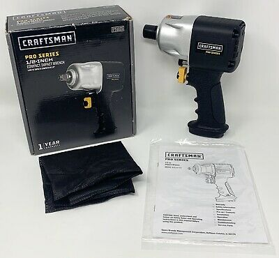 """Craftsman 951115 ProSeries 1/2"""" Air/Pneumatic Compact Impact Wrench"""