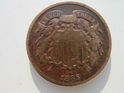 Two Cent 1865