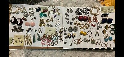 Huge lot vintage to now earrings ! all styles types and sizes