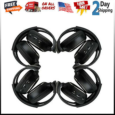 New arrival! 4 Pack of Two Channel Folding Universal Rear Entertainment System I