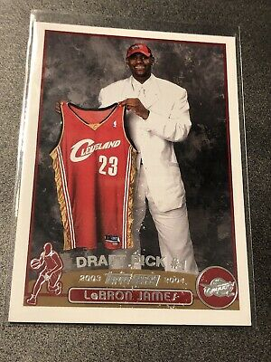 2003-04 Topps LeBron James Rookie RC #221 Cavaliers Cavs Lakers (read Desc)