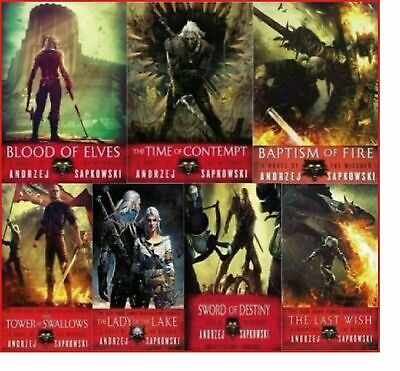 The Witcher Series 7 AUDIOBOOKS by Andrzej Sapkowski 📧 Email Delivery 📧