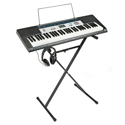 Casio CTK-1550AD, Keyboard with Stand and Headphones