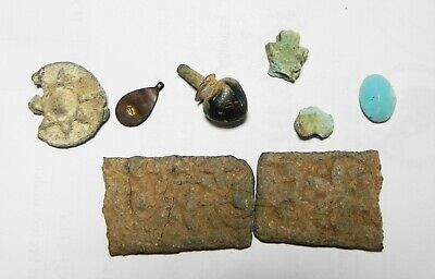 Zurqieh -As17303- Ancient Holy Land. Lot Of Relics. Roman - Mamluk Period