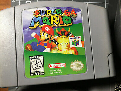 NEW Nintendo N64 Game Super Mario 64 Video Game Cartridge Console Card US