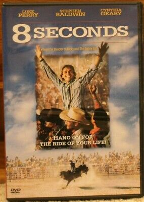 8 Seconds (DVD, 1999) Luke Perry rated PG-13