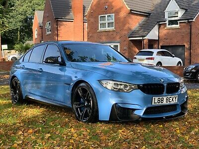 Bmw M3 3.0 Dct M Performance Extras + Heads Up +Carbon Pk+ Low Miles