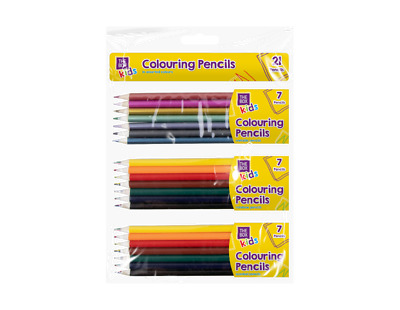 21 Colouring Pencils Metallic Rainbow Scented Assorted Colourful Pencils