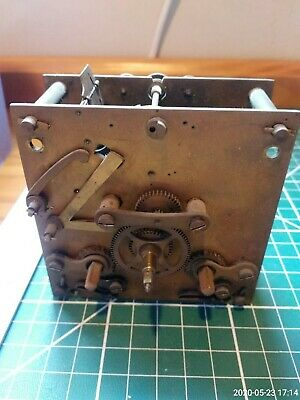Antique Clock Movement Werner depunirt Spares or Repair + Others