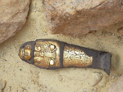 Rare Antique Ancient Egyptian Ushabti Servant God Isis Health Cure1790-1680 BC