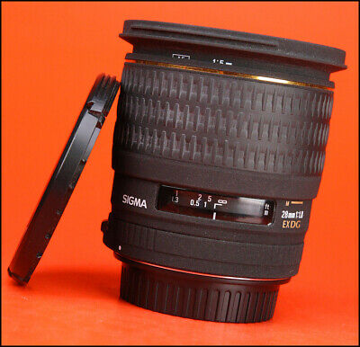 *igma 28mm F1.8 EX DG Prime Aspherical Macro Large Wide Angled Lens - For Canon