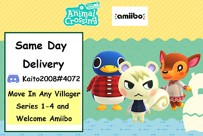 Animal Crossing New Horizons Move in - Marshal/Ankha/Bob & Over 300 selections!