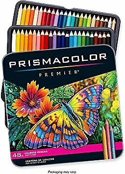 NWT Prismacolor Premier Soft Core Colored Pencils, Set of 48, Brand New Sealed