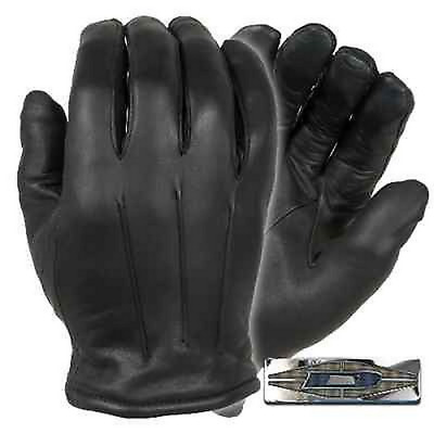 Thinsulate Leather Dress Gloves - Black - Large