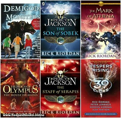 27 books - Rick Riordan Collection Heroes of Olympus,Kane,Percy Jackson