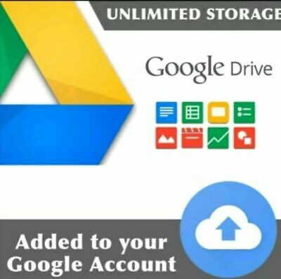 Google Drive UNLIMITED LIFETIME. Fastest Delivery