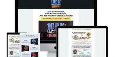 Aidan Booth And Steve Clayton 100K Factory Revolution.Affiliate marketing course